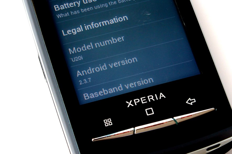 Installing Android 23 Gingerbread On Sonyericsson Xperia X10 Mini Pro