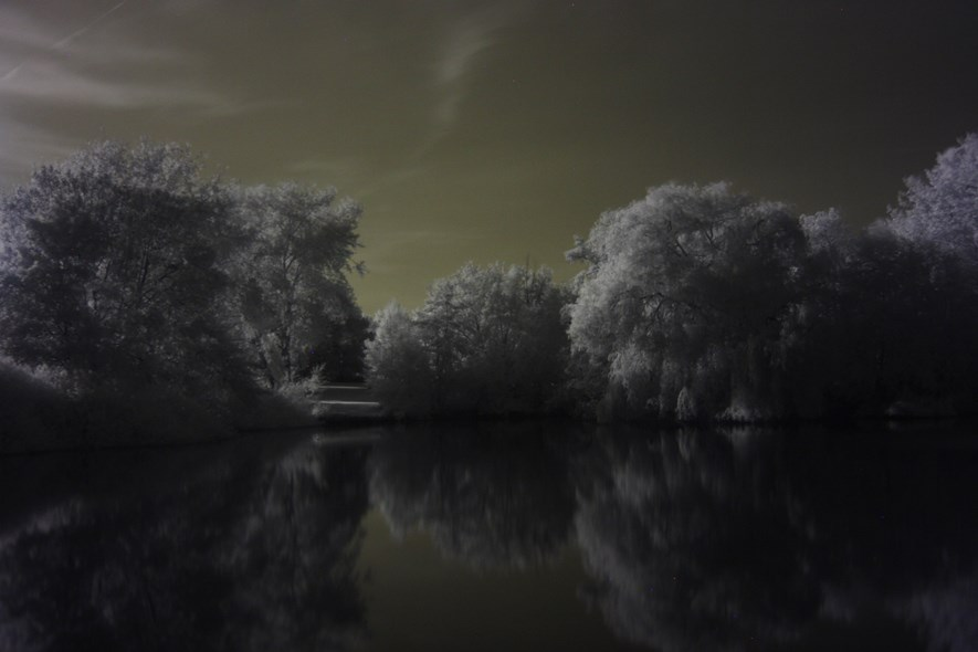Shot in Infrared-Scope!
