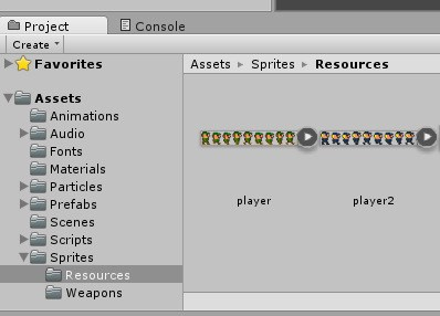 Unity3D: Replace Sprite Programmatically in Animation - Erik