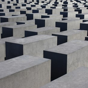 Jewish memorial. Don't ask me what large concrete blocks have to do with the holocaust.
