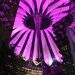 Sony Center in central Berlin.