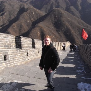 Climbing the great wall was actually more difficult than I thought.