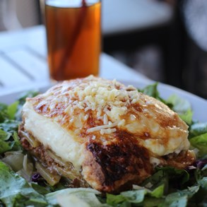 Moussaka - in case you haven't tried - do.