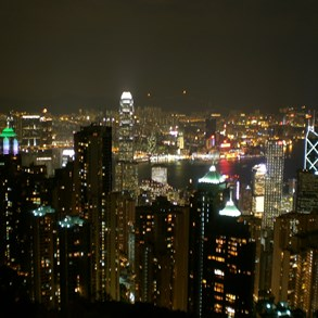 Victoria Peak. Tripod, anyone?